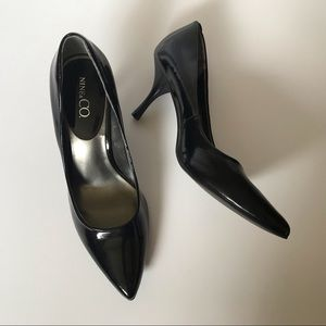 Nine and Co Women Size 7 M Classic Heels Black